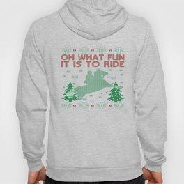 Riding Horse Christmas Hoody