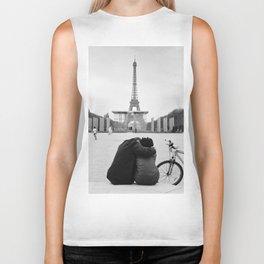 Paris Lovers Biker Tank