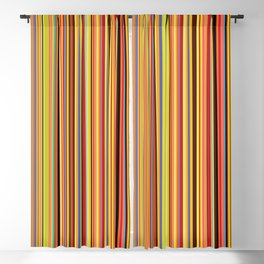 Old Skool Stripes - Bold Blackout Curtain