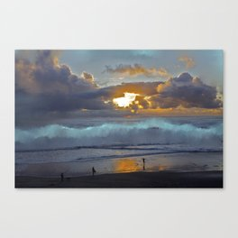 Behold the Sunset Canvas Print