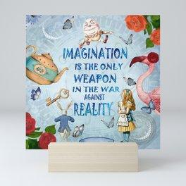 Alice In Wonderland - Imagination Mini Art Print