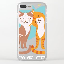 Kitten Lover Cat Lover Gift Design Idea For Kitty Fans product Clear iPhone Case