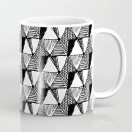 Vintage Diamond Pattern Coffee Mug