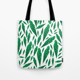 Begonia pattern Tote Bag
