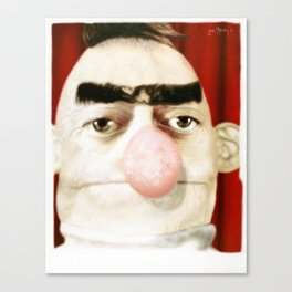 Photobooth Bert Canvas Print