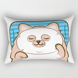 Your face, your fate. Rectangular Pillow