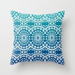 Tatau Sina Throw Pillow