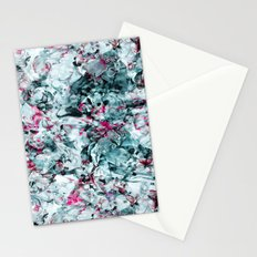 FLORAL WAVES Stationery Cards