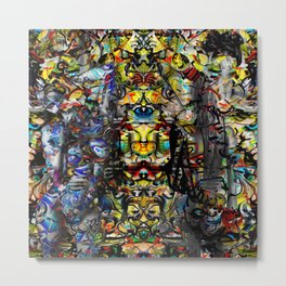 Temple of God Metal Print