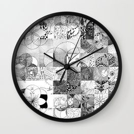 Art In Action Wall Clock