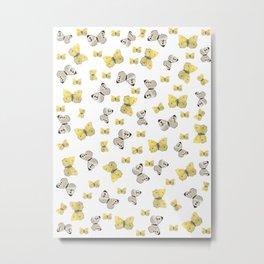 Danish Butterflies Metal Print