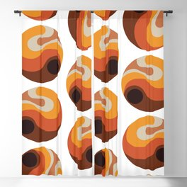 Rebirth Of The 70's No. 202 Blackout Curtain