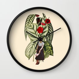 Thinking about you Wall Clock