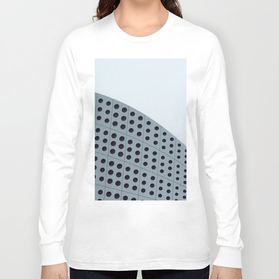 Echo grid Long Sleeve T-shirt