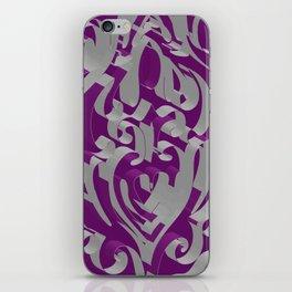 3D Ornamental Background iPhone Skin