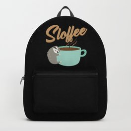 Sloffee | Coffee Sloth Backpack
