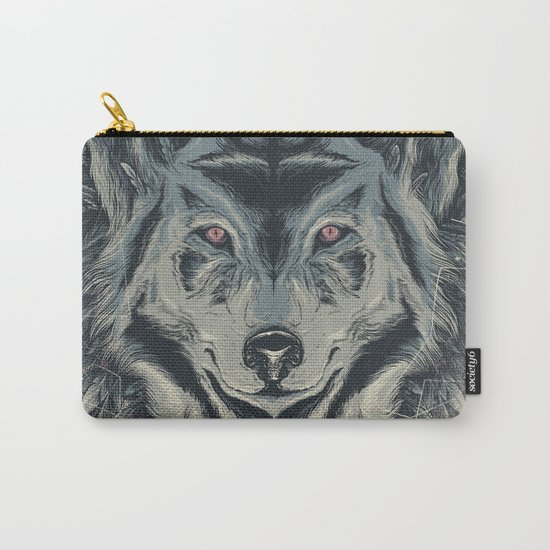 A wolf among ravens Carry-All Pouch
