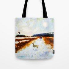 LANDSCAPE - Broadland walk Tote Bag