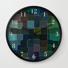 Tropic Squared Wall Clock