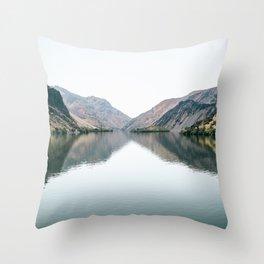 Snake River Throw Pillow