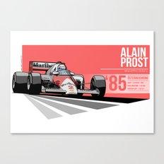 Alain Prost - 1985 Österreichring Canvas Print