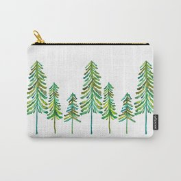 Pine Trees – Green Palette Carry-All Pouch