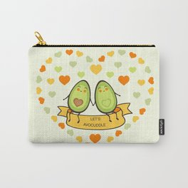 Let's avocuddle! Carry-All Pouch