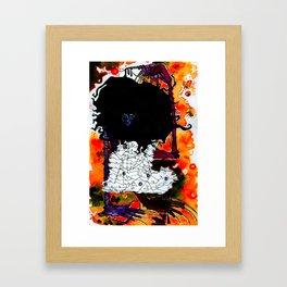 DustBunny. Framed Art Print
