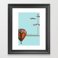 Up...up Framed Art Print