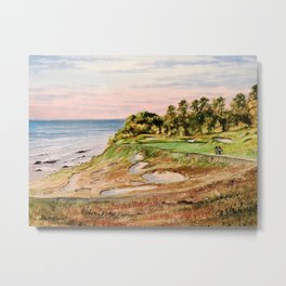 Whistling Straits Golf Course 17th hole Metal Print