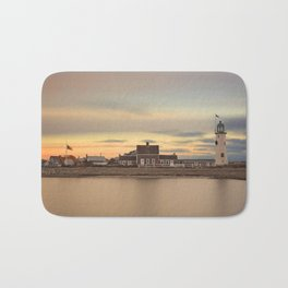 Scituate Harbor Lighthouse Bath Mat