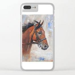 Wind over Turf Clear iPhone Case