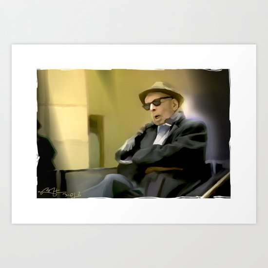 Sir . . You Missed Your Train > . . Art Print