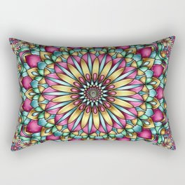 Colour kaleidoscope Rectangular Pillow