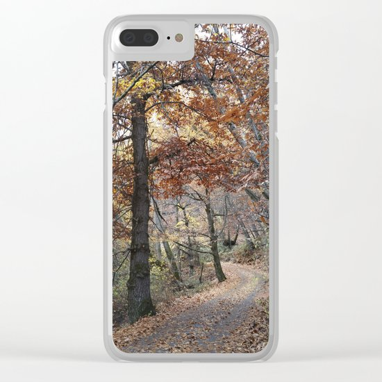 Into the fall woods. Yesterday Clear iPhone Case