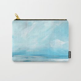 Resurgence - Stormy Ocean Seascape Carry-All Pouch