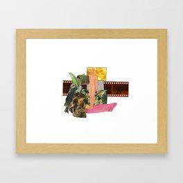 organs gone fake plastic house plant Framed Art Print