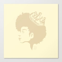 A Queen Canvas Print