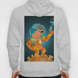 Astronaut and the flower Hoody