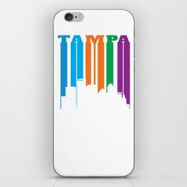 Tampa in Silhouette iPhone Skin