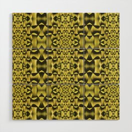 Yellow Haze Wood Wall Art