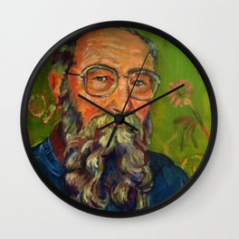 David K Lewis Wall Clock