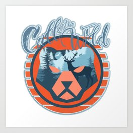 Call of the Wild Art Print