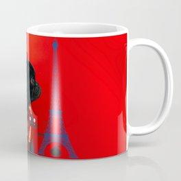 Proud Pug from Paris Coffee Mug