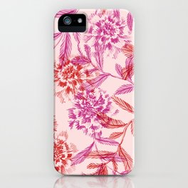 Botanical sketch iPhone Case
