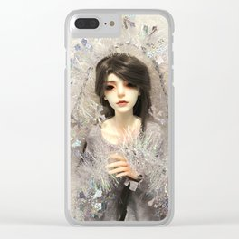 Kallias - Winter Snow Clear iPhone Case