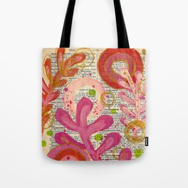 french swirl ... Tote Bag