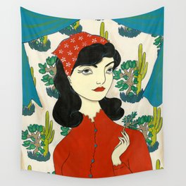 Found gentle, studied slow Wall Tapestry