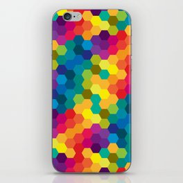 Hexagonized iPhone Skin