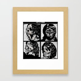 Let It Feed Framed Art Print